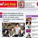 Alena Kosmáková (42) se stará o postižená trojčata